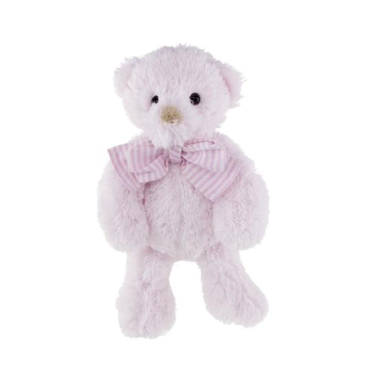 Tinka baby Bamse m/sløyfe 25cm rosa