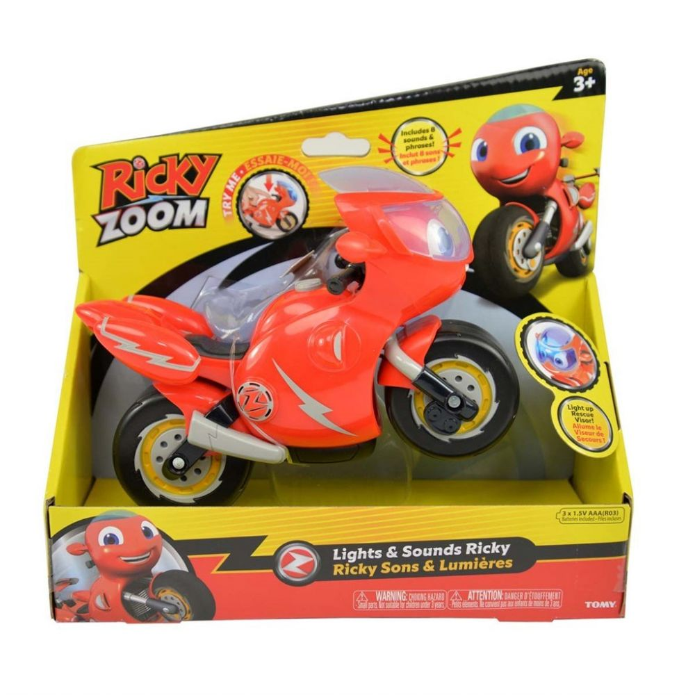 Ricky Zoom feature figure