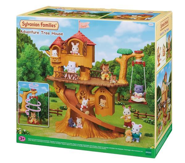 Sylvanian Adventure treehouse
