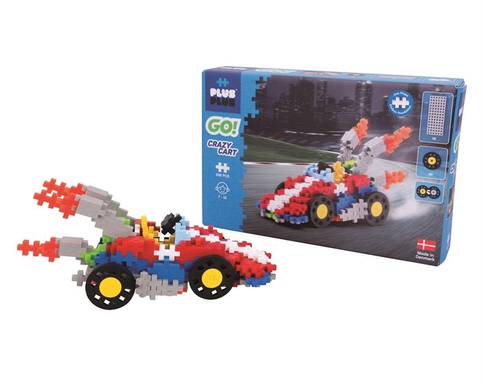 Plus-Plus Go! cracy cart