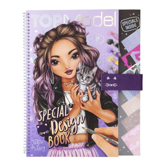 Top Model aktivitetsbok special design book