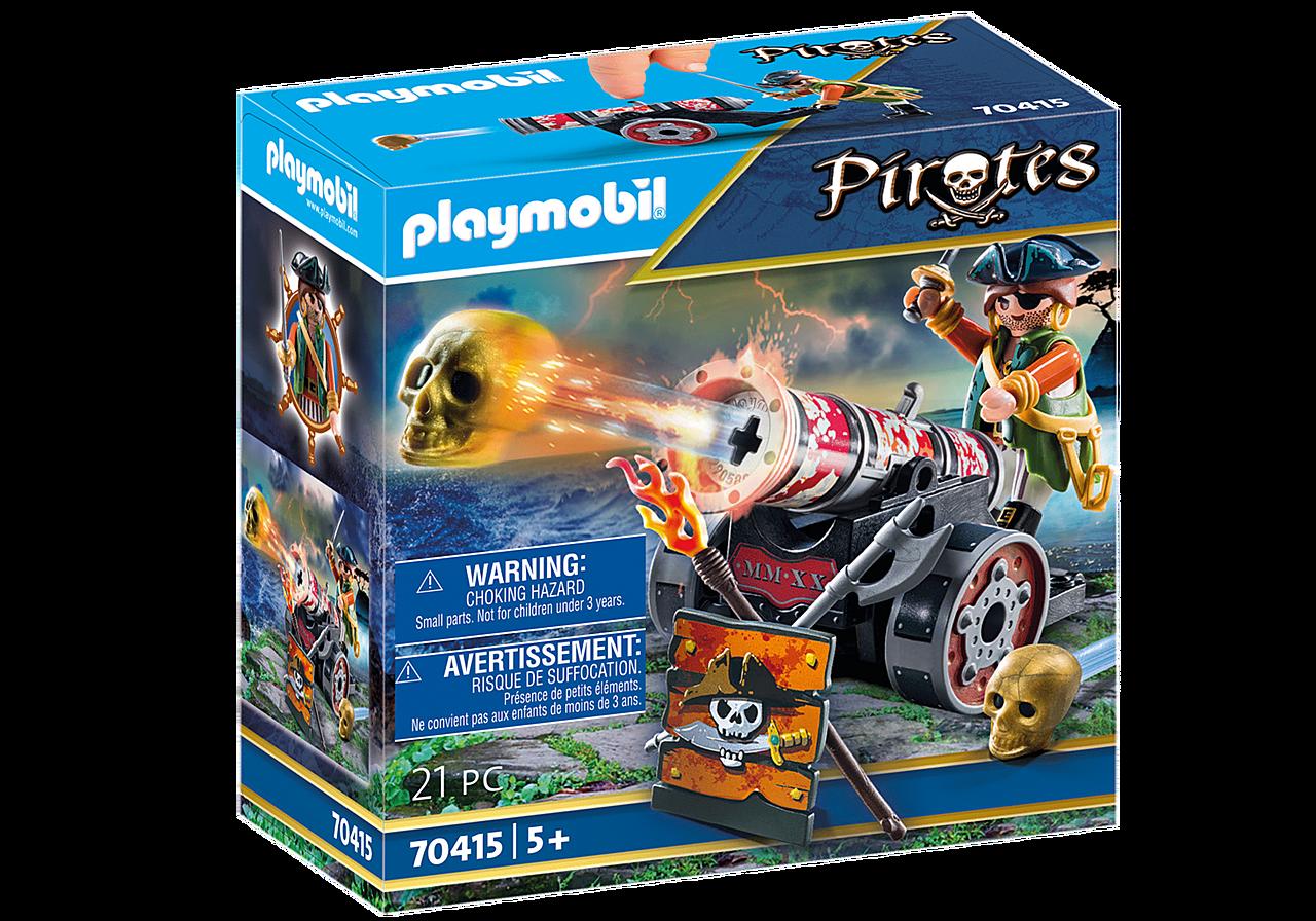 Playmobil Pirat med kanon