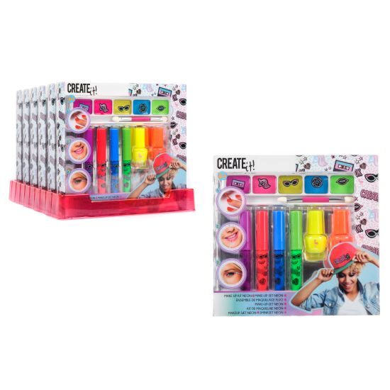 Create it! Makeup set neon 7pk