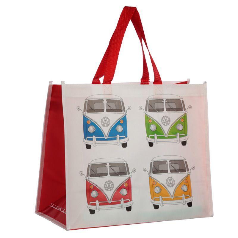 Volkswagen VW T1 Camper Bus Shopping Bag