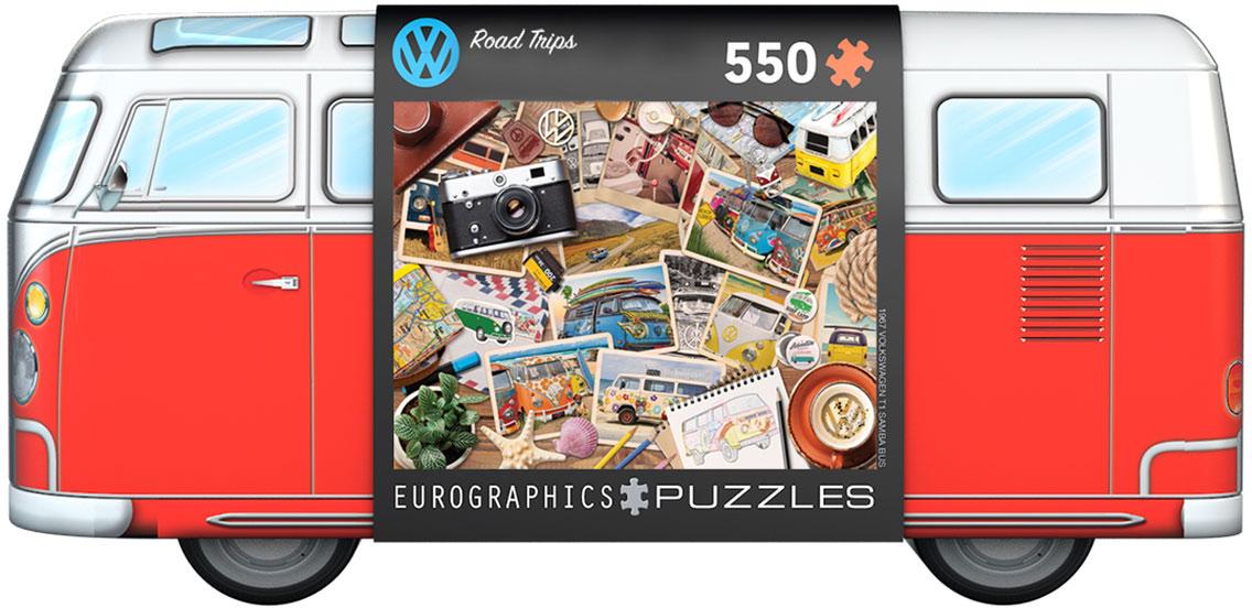 Volkswagen Bus Road Trips Puzzle Tin 550 biter