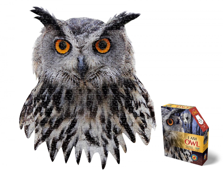 I am Owl Head Shape Puzzles 550 biter