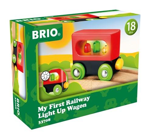BRIO® Min første vogn m/lys