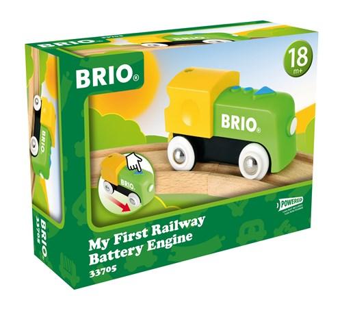 BRIO® Mitt første batteritog