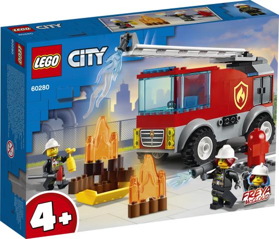 Brannvesenets stigebil