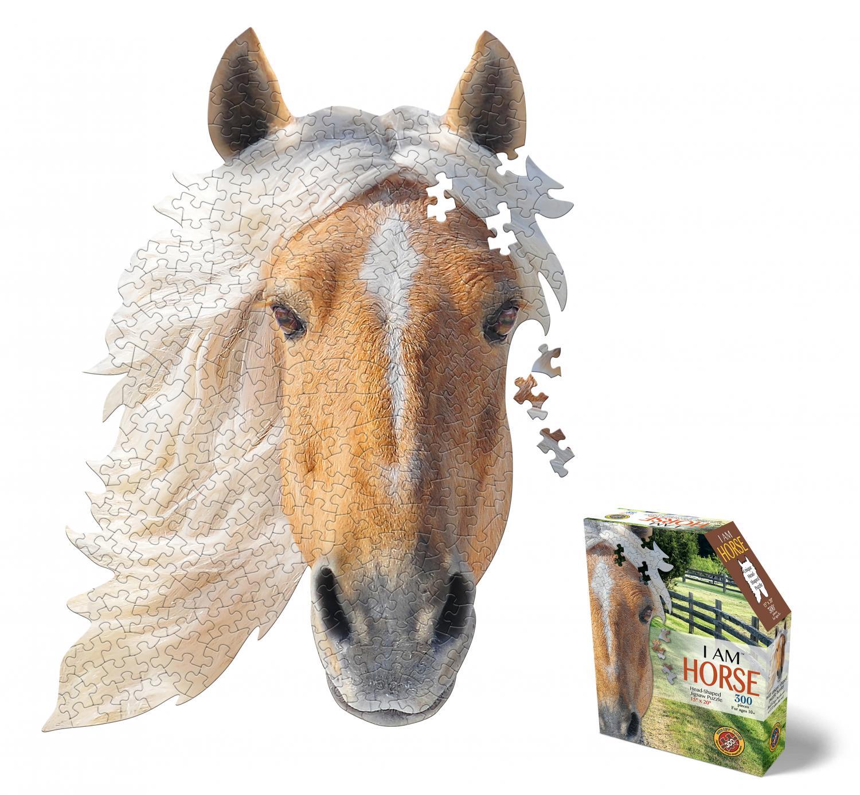 I am Horse Head Shape Puzzles 550 biter