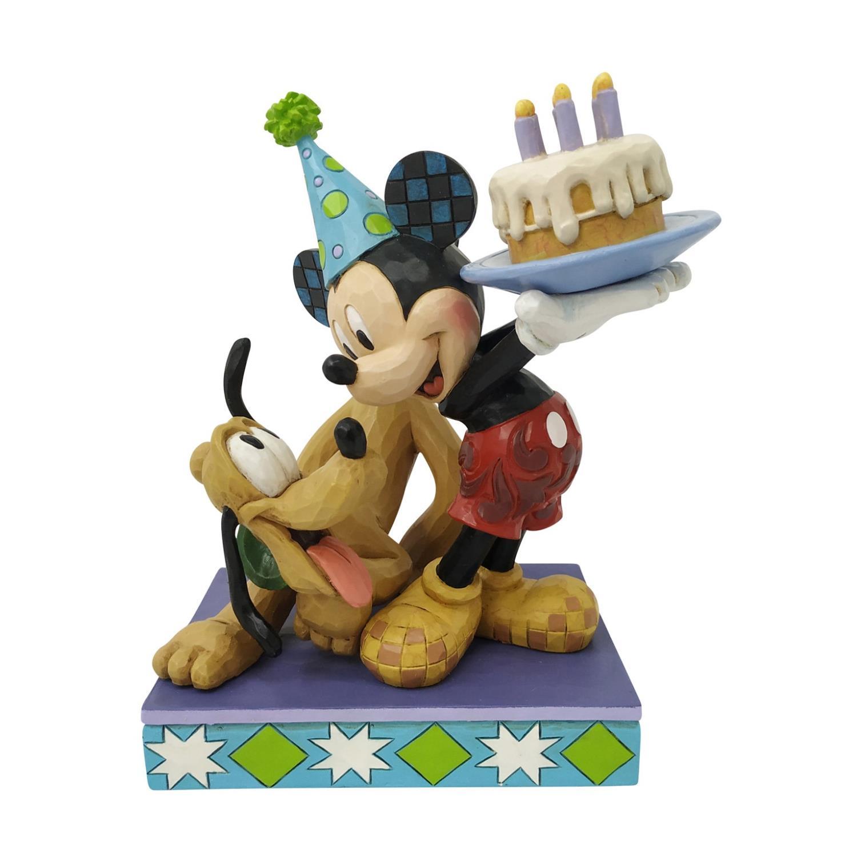 Pluto & Mickey Birthday Figur