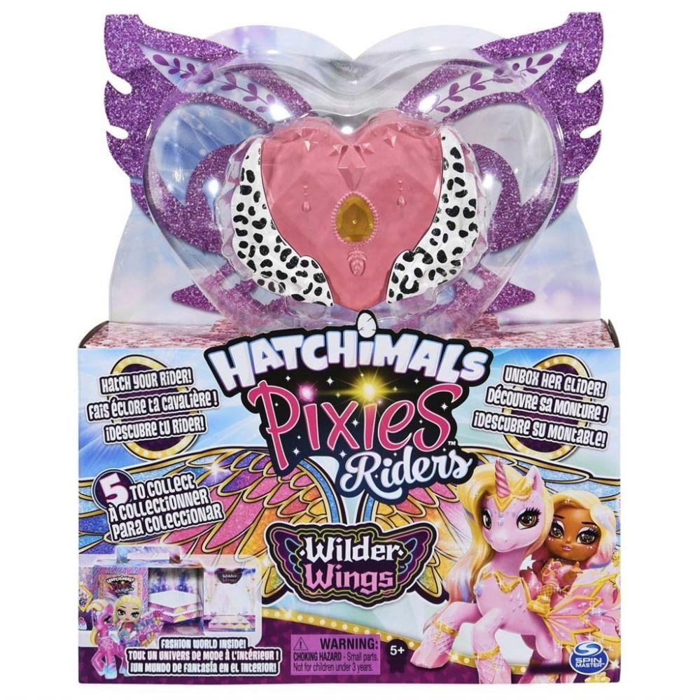 Hatchimals Pixies Riders Wilder Wings asst