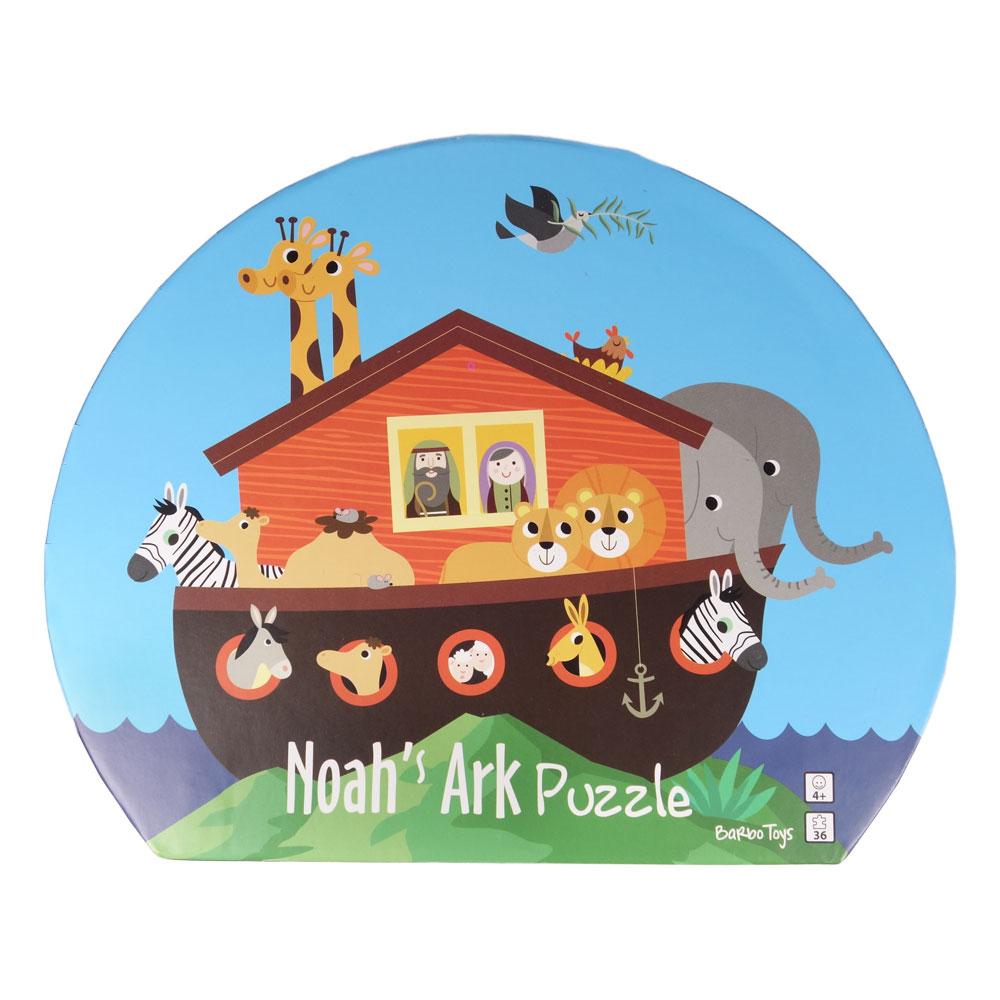 Noahs ark puslespill