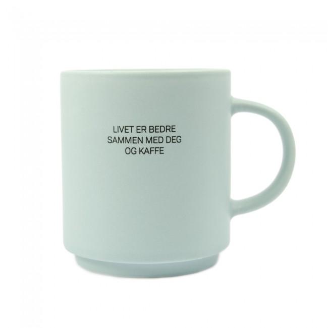 Kopp Lea - Livet er bedre sammen med deg og kaffe