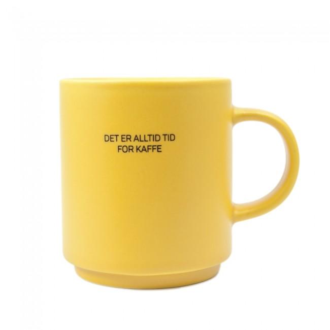 Kopp Lea - Det er alltid tid for kaffe gul