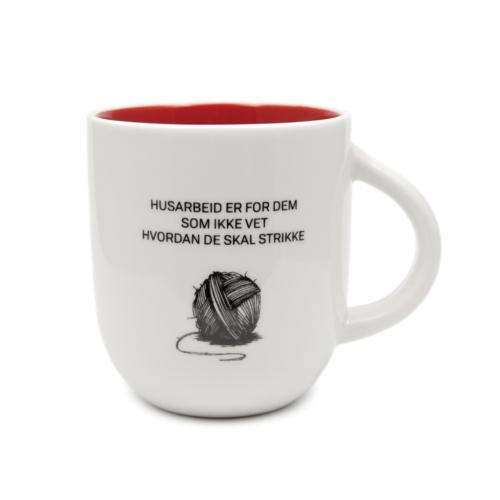 Kopp K&G Husarbeid er for dem..... skal strikke