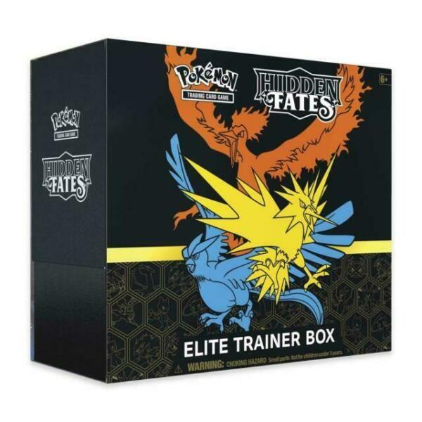 Pokémon Elite trainer box Hidden Fates