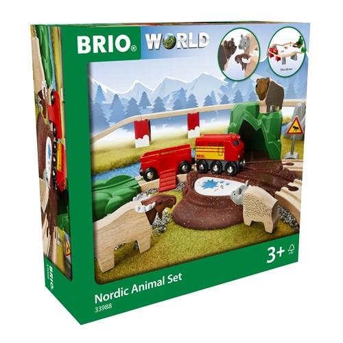 BRIO® World Nordiske dyresett