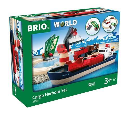 BRIO®World Togbane Havnesett 16deler