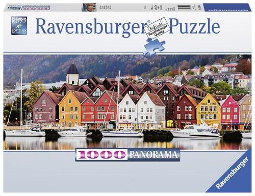 Bergen panorama 1000p
