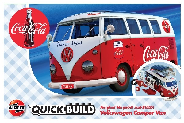 Quick Build Volkswagen Camper Van Coca-Cola