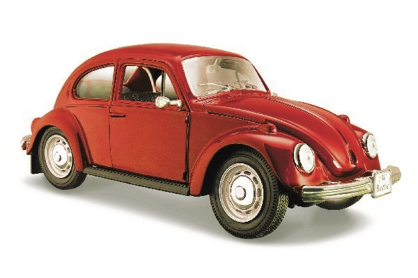Volkswagen Beetle 1:23 Red
