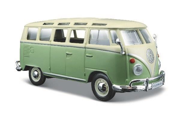 Volkswagen Van Samba 1:24 Green/Cream