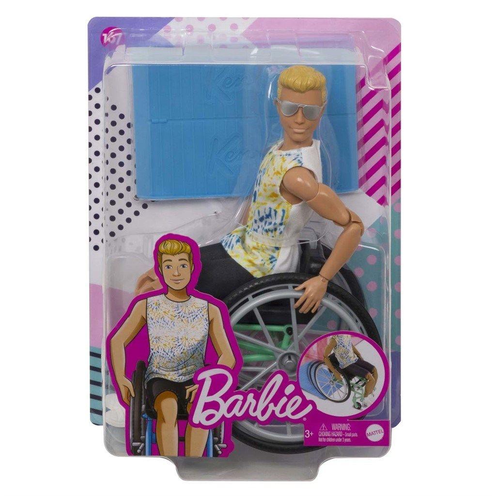 Barbie Ken i rullestol