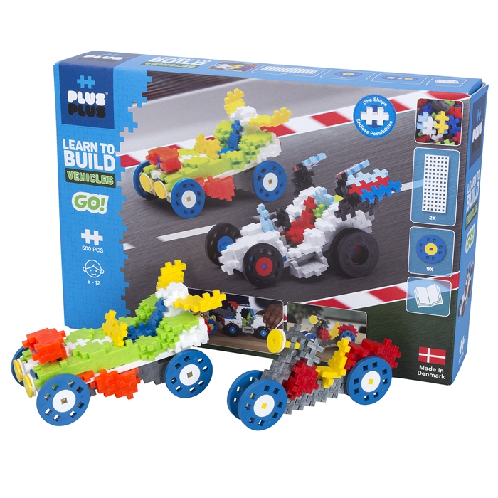 Plus-Plus learn to build Go! biler 500pcs