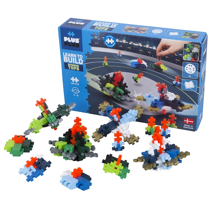 Plus-PLus learn to build Spinning tops 240pcs
