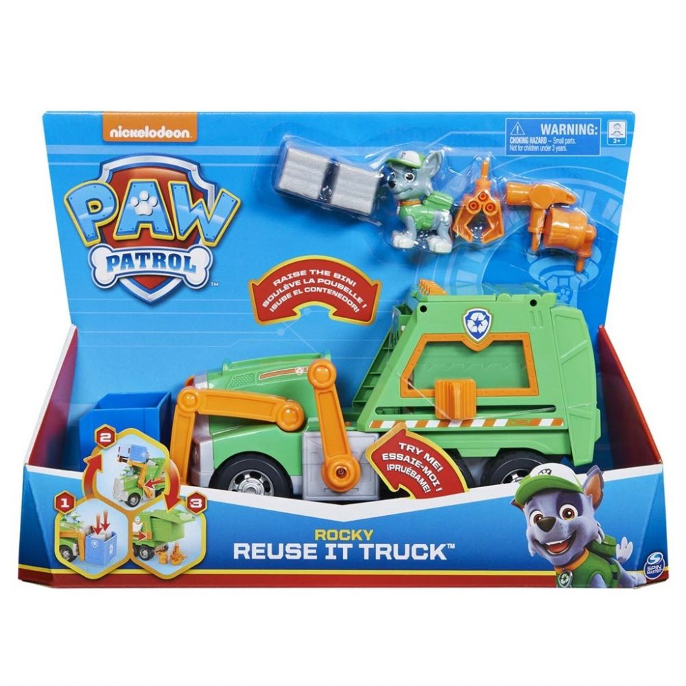 Paw Patrol Rocky Reuse it truck