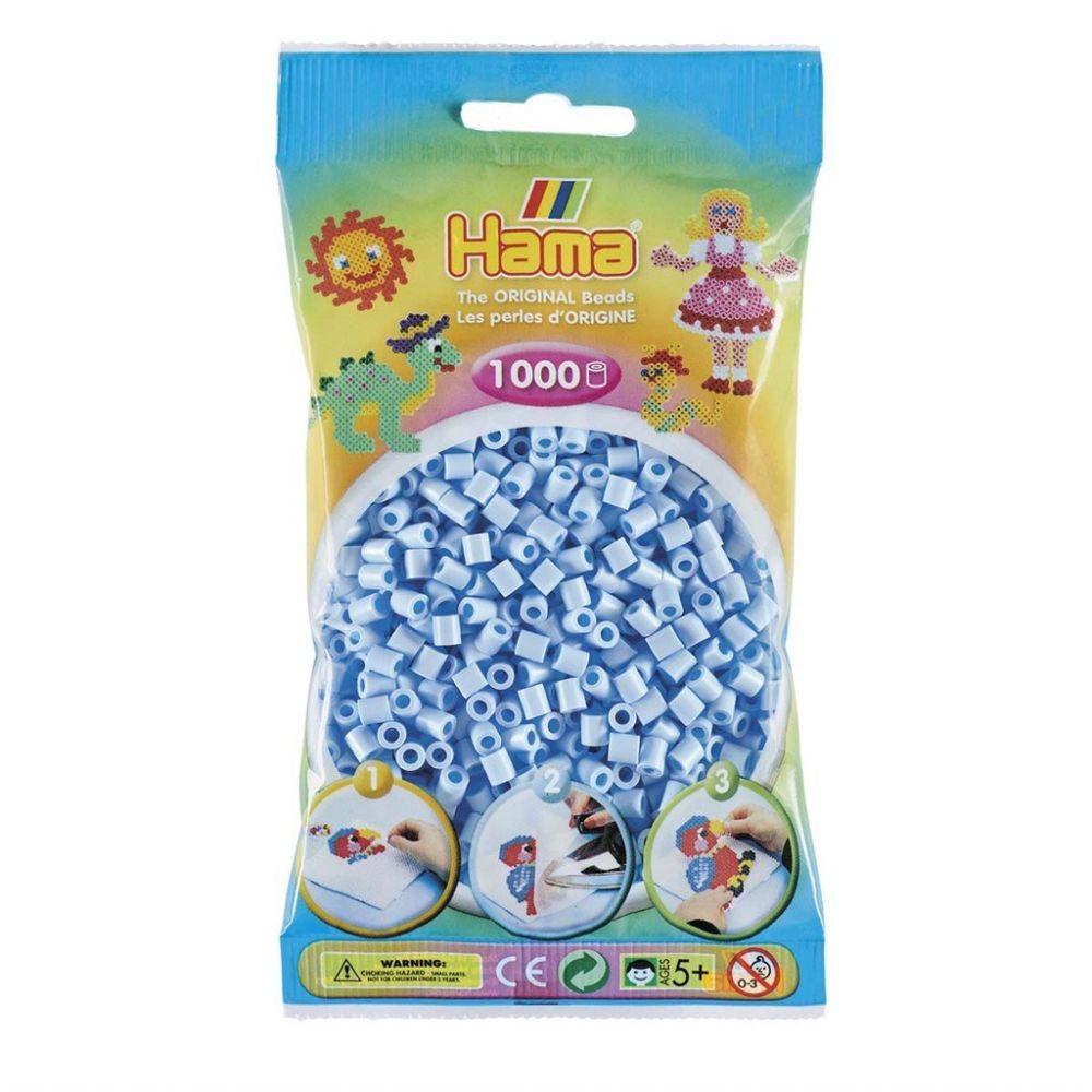 Hama Midi Beads 1000 pcs Pastel Ice blue
