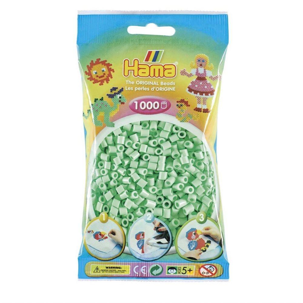 Hama Midi beads 1000 pcs. Pastel Mint