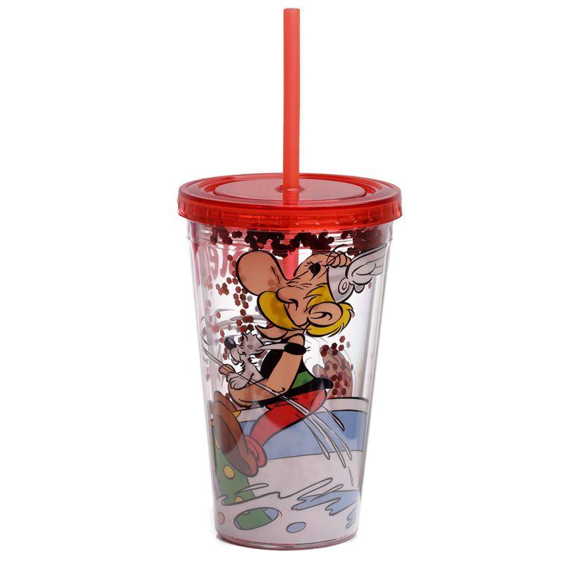 Asterix 500ml Dubbelväggig Återanvändbar Kopp med