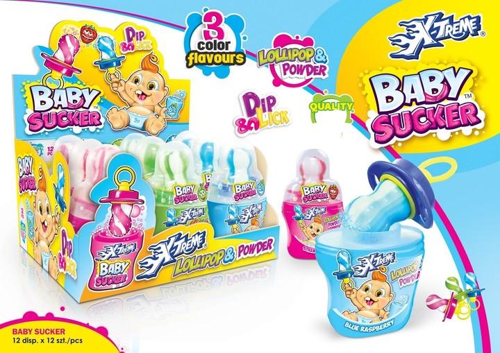 Baby sucker lollipop & powder