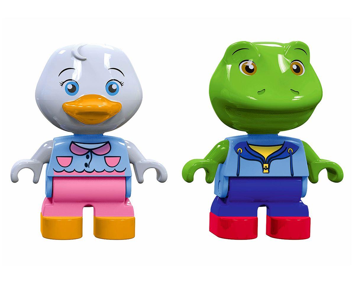 Aquaplay figurer - Frosken Nils og Anden Lotta 6 c