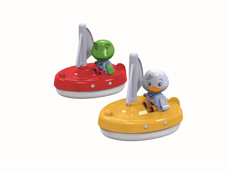 Aquaplay figursett - 2 seilbåter med figurer