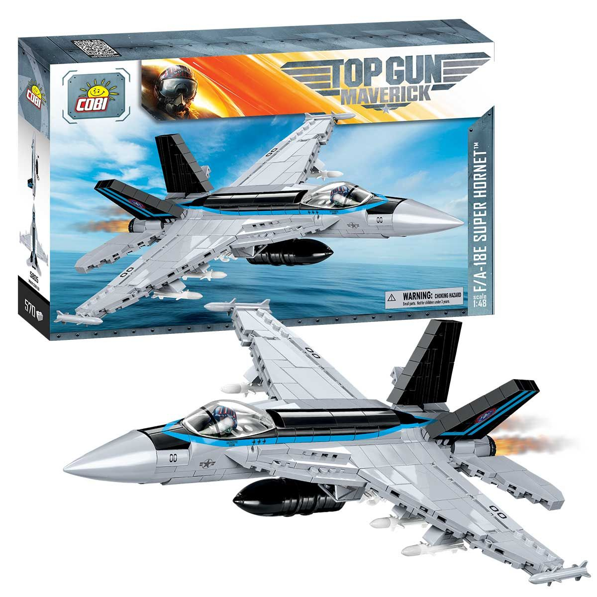 Top Gun Maverick F/A-18E Super Hornet - 580 deler