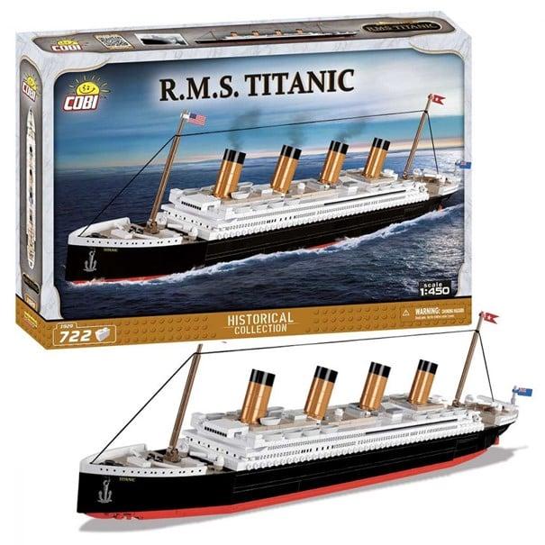 RMS Titanic – Scale 1:450 – 720 pcs