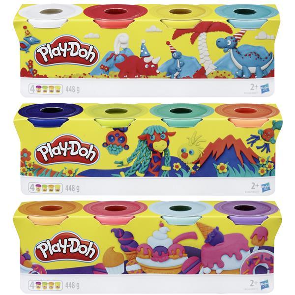 Play-Doh 4 pack asst.